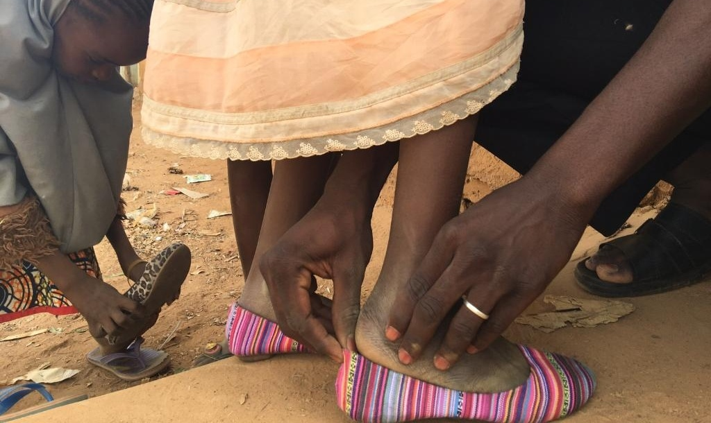 donating shoes to africa