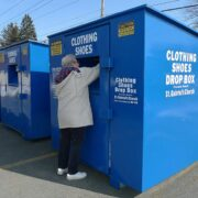 Clothing donation bins near me