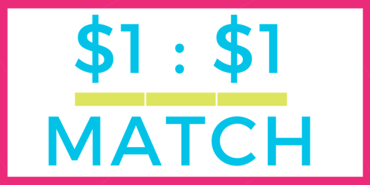 Charities that match donations